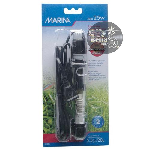 Calefactor Hagen Marina 25w P Acuarios De 25lts Bettas