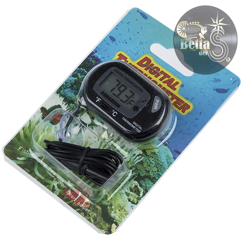 Termómetro digital externo para acuarios