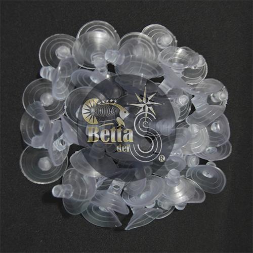 Ventosa Cristal para manguera de Acuario