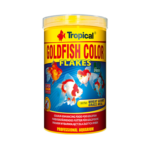 Tropical Goldfish Color Flakes 200gr