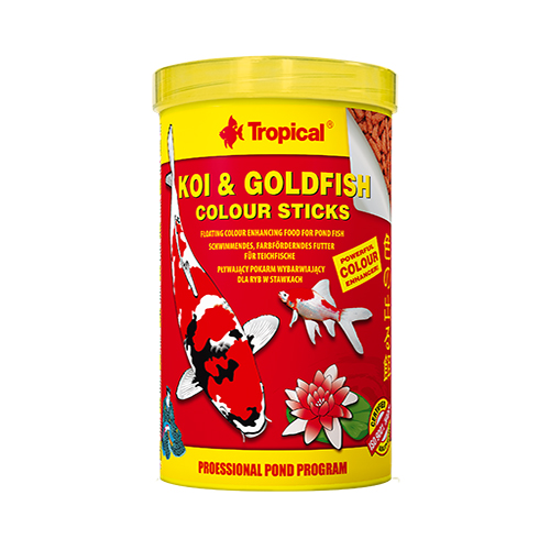 Tropical Koi & Goldfish Colour Sticks 4kg