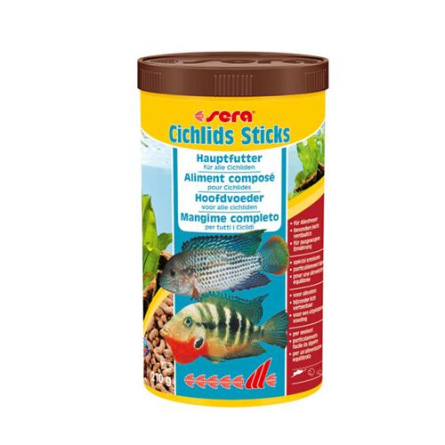 Sera Cichlids Sticks 210gr